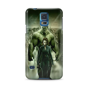 Black Widow Hulk Samsung Galaxy S4 5 6 7 8 9 10 E Edge Note 3 - 10 Plus Case