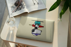 Cartoon Dog Snoopy MacBook case for Mac Air Pro M1 13 16 Cover Skin SN181