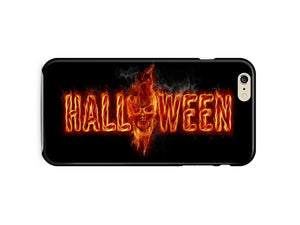 Halloween Skull Evil Horror Iphone 4 4s 5 5s 5c 6 6s 7 + Plus Case Cover ip1