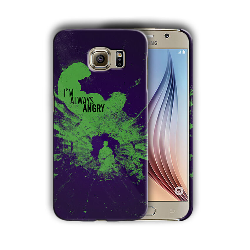 Super Hero Hulk Samsung Galaxy S4 5 6 7 8 9 10 E Edge Note 3 - 10 Plus Case n7