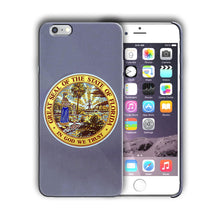 Load image into Gallery viewer, Florida Great Seal Emblem Iphone 4 4s 5 5s 5c SE 6 6s 7 + Plus Case Cover 03