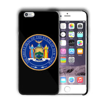 Load image into Gallery viewer, New York Great Seal Emblem Iphone 4 4s 5 5s 5c SE 6 6s 7 + Plus Case Cover 05