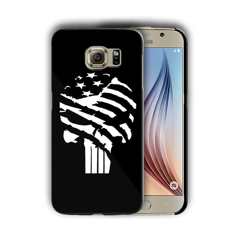 Super Hero Punisher Samsung Galaxy S4 5 6 7 8 9 10 E Edge Note Plus Case n13