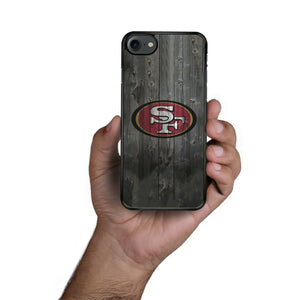 Rubber bumper case San Francisco 49ers for iphone X XS Max XR 8 7 6 5 plus cover