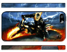 Load image into Gallery viewer, Iphone 4 4s 5 5s 5c 6 6S 7 8 X+ Plus Hard Cover Case Ghost Rider Comics Kids ip1