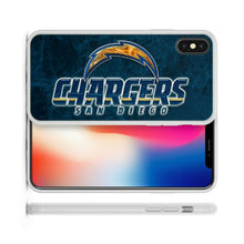 Load image into Gallery viewer, Rubber bumper case San Diego Chargers for iphone X XS Max XR 8 7 6 5 plus cover
