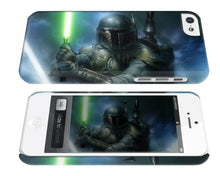 Load image into Gallery viewer, Star Wars 2015 Boba Fett Iphone 4 4s 5 5s 5c 6 6S 7 + Plus Case Cover