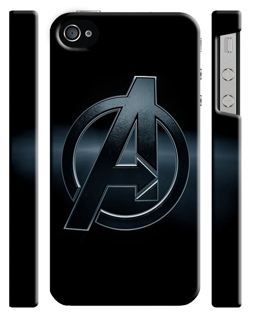 Avengers Age Of Ultron Logo Iphone 4 4s 5 5s 5c 6 6S + Plus Cover Case Comics