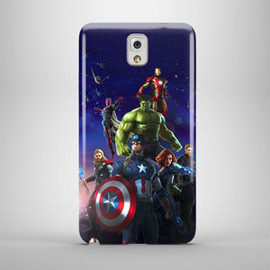 Avengers Age Of Ultron Samsung Galaxy S4 5 6 7 8 9 10 E Edge Note Plus Case