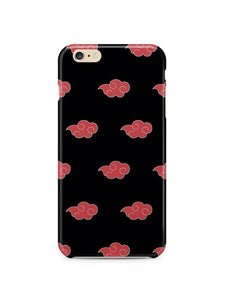 Naruto Akatsuki Cloud Iphone 4s 5s 5c 6S 7 8 X XS Max XR Plus Case Cover SE 1