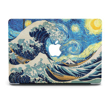 Load image into Gallery viewer, The Great Wave Kanagawa MacBook case for Mac Air Pro M1 13 16 Cover Skin SN114