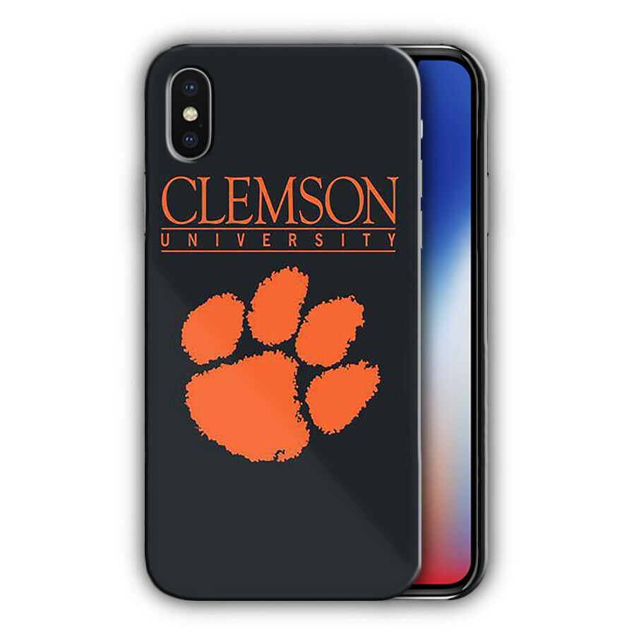 Clemson Tigers Iphone 5s SE 6s 7 8 X XS Max XR 11 Pro Plus Case Cover 4