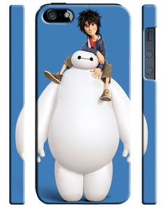 Iphone 4 4s 5 5s 5c 6 Plus Cover Case Big Hero 6 Baymax Disney Cartoon Robot