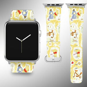 Winnie the Pooh Apple Watch Band 38 40 42 44 mm Disney 5 1 2 3 4 Wrist Strap 3