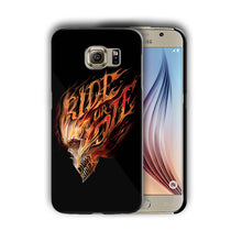Load image into Gallery viewer, Ghost Rider Samsung Galaxy S4 5 6 7 8 9 10 E Edge Note 3 4 5 8 9 10 Plus Case n8