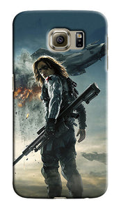 Winter Soldier Samsung Galaxy S4 5 6 7 8 9 10 E Edge Note 3 - 10 Plus Case 3