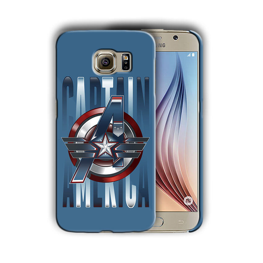 Captain America Samsung Galaxy S4 5 6 7 8 9 10 E Edge Note 3 - 10 Plus Case n5