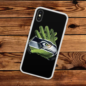 Seattle Seahawks case for iphone XR X XS Max 7 8 plus silicone cover 5 6