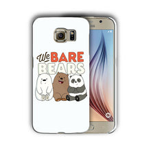 Load image into Gallery viewer, We Bare Bears Samsung Galaxy S4 5 6 7 8 9 10 E Edge Note 3 4 5 8 9 Plus Case 11