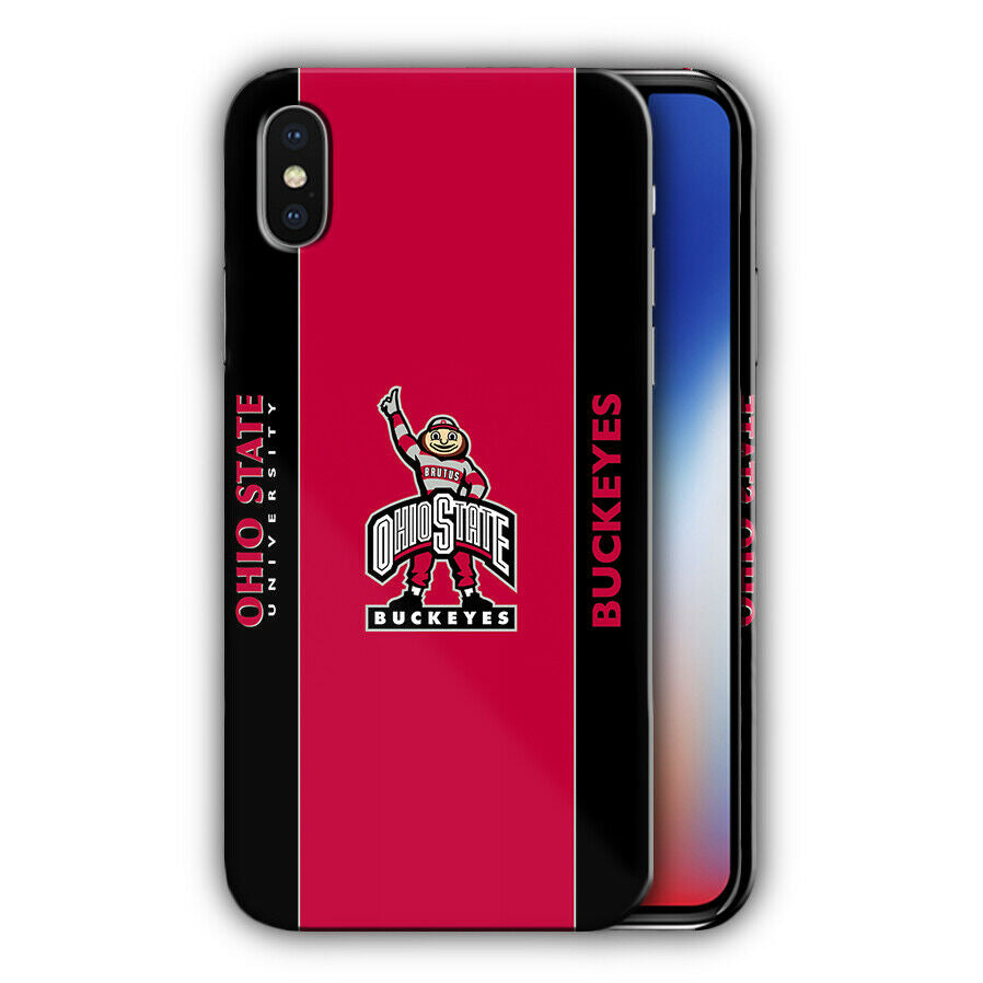 Ohio State Buckeyes Iphone 5s SE 6s 7 8 X XS Max XR 11 Pro Plus Case Cover 3