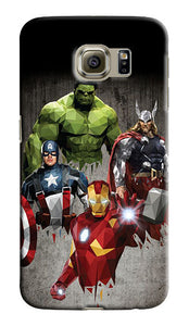 Avengers Hulk Samsung Galaxy S4 S5 S6 S7 8 Edge Note 3 4 5 8 + Plus Case Cover 2