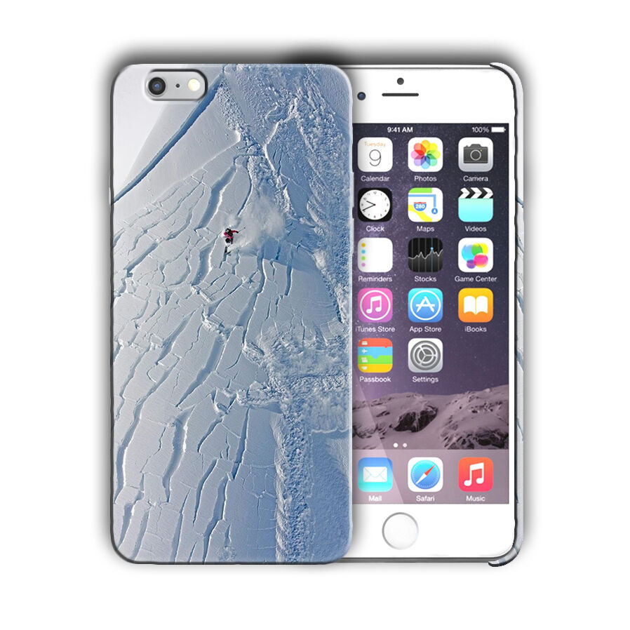 Extreme Sports Skiing Iphone 4 4s 5 5s 5c SE 6 6s 7 + Plus Case Cover 09