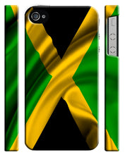 Load image into Gallery viewer, Jamaica National Symbol Flag iPhone 4 4S 5 5S 5c 6 6S 7 + Plus Case Cover