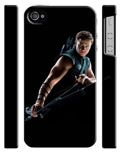 Hawkeye Avengers Iphone 4s 5 5s 5c 6 6S 7 8 X Plus Cover Case Comics Marvel Kids
