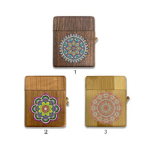 Load image into Gallery viewer, Arabic Pattern wooden Case for AirPods 1 2 3 Pro real wood cover SN 152