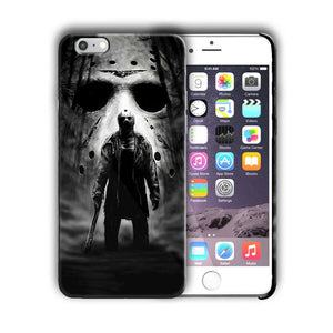 Halloween Jason Mask Horror Iphone 4s 5s 6s 7 8 X XS Max XR 11 Pro Plus Case n8