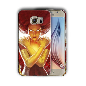 X-Men Phoenix Samsung Galaxy S4 S5 S6 S7 S8 Edge Note 3 4 5 8 Plus Case Cover 1