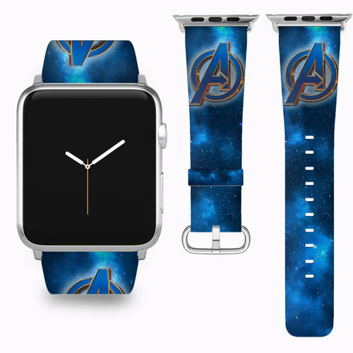 Avengers Endgame Apple Watch Band 38 40 42 44 mm Series 5 1 2 3 4 Wrist Strap 2