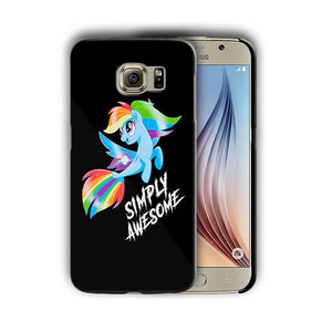 My Little Pony Samsung Galaxy S4 5 6 7 8 9 10 E Edge Note 3 4 5 8 9 Plus Case 6
