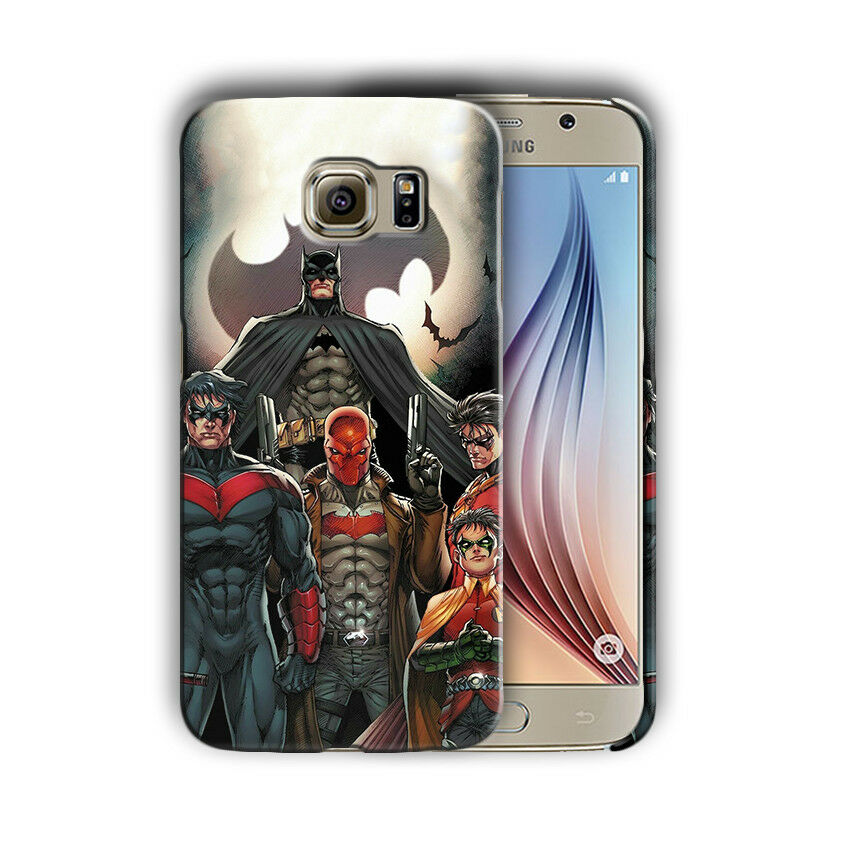 Super Hero Batman Samsung Galaxy S4 5 6 7 8 9 10 E Edge Note 3 -10 Plus Case nn2