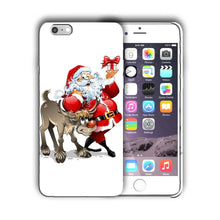 Load image into Gallery viewer, Santa Claus Christmas iPhone 5S 5c 6 6S 7 8 X XS Max XR Plus SE Case Cover 3