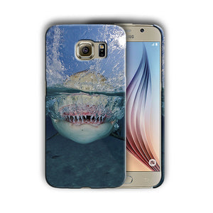 Shark Jaws Samsung Galaxy S4 S5 S6 S7 S8 Edge Note 3 4 5 8 + Plus Case n2