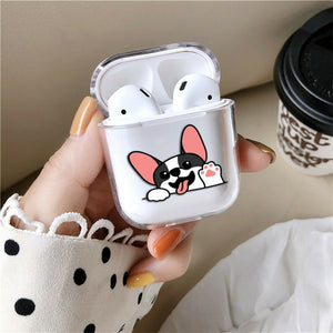 Cute Dogs Best Silicone Case for AirPods 1 2 3 Pro gel clear cover SN 176