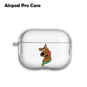 Catroon Scooby-Doo Silicone Case for AirPods 1 2 3 Pro gel clear cover SN 219