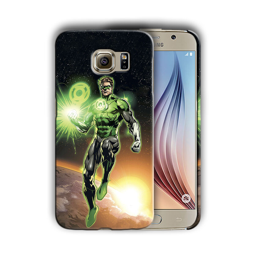 Green Lantern Samsung Galaxy S4 5 6 7 8 9 10 E Edge Note 3 - 10 Plus Case n9