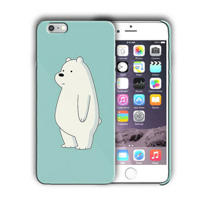 Animation We Bare Bears Iphone 4s 5 5s 5c SE 6 6s 7 8 X XS Max XR Plus Case 07