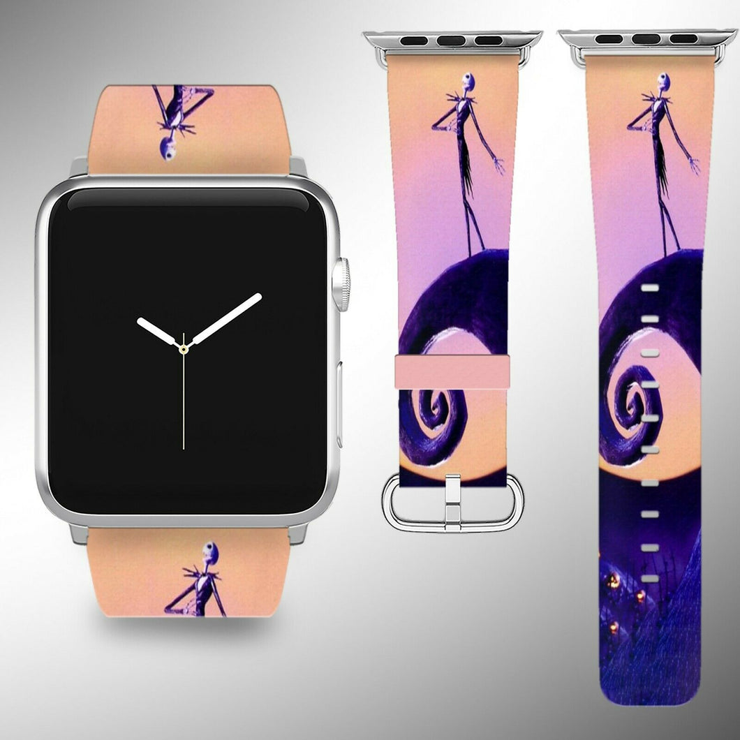 Nightmare Before Christmas Apple Watch Band 38 40 42 44 mm 1- 5 Wrist Strap 02
