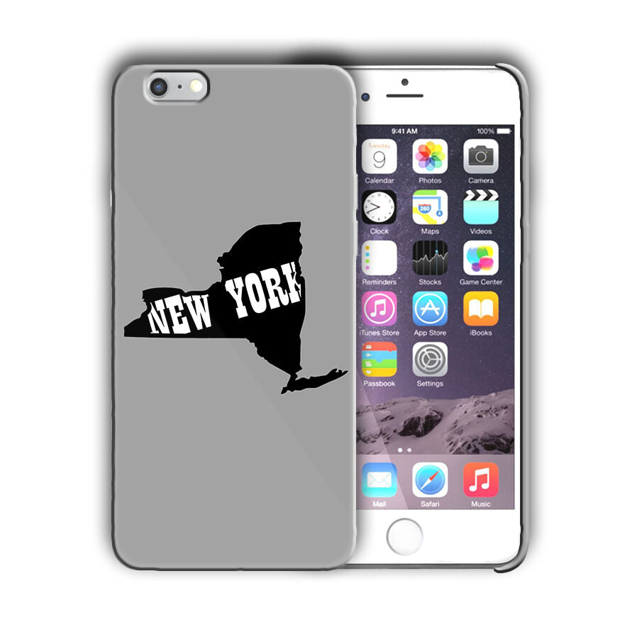 New York State Iphone 4 4s 5 5s 5c SE 6 6s 7 + Plus Case Cover 03