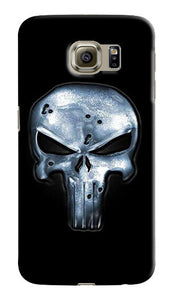 The Punisher Logo Samsung Galaxy S4 5 6 7 8 9 10 E Edge Note 3 - 10 Plus Case 1