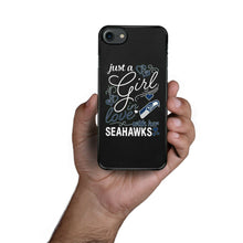 Load image into Gallery viewer, Rubber bumper case Seattle Seahawks for iphone X XS Max XR 8 7 6 5 plus cover