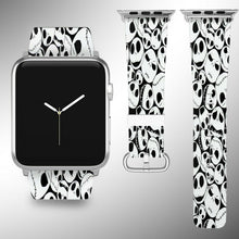 Load image into Gallery viewer, Nightmare Before Christmas Apple Watch Band 38 40 42 44 mm Wrist Strap 01