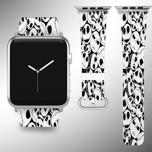 Nightmare Before Christmas Apple Watch Band 38 40 42 44 mm Wrist Strap 01