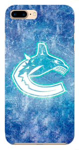 Vancouver Canucks Logo iPhone 5S 6S 7 8 X XS Max XR 11 Pro Plus SE Case Cover i6