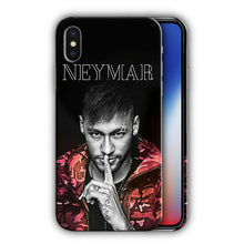 Load image into Gallery viewer, Neymar JR Brazil Soccer Iphone 4 4S 5 5s 5c 6 6S 7 8 X XS Max XR Plus SE Case 6