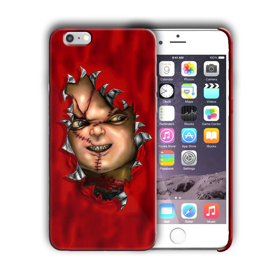 Halloween Chucky Horror Iphone 4s 5s SE 6s 7 8 X XS Max XR 11 Pro Plus Case n16