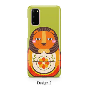 Animal nesting case for Galaxy s20 s20+ Ultra s10 s10+ s9 s8 s7 S6 Edge SN